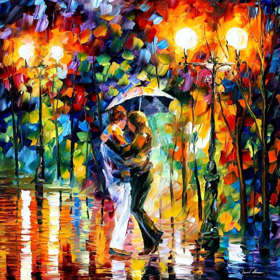 Artists: Love Through Leonid Afremov's Strokes