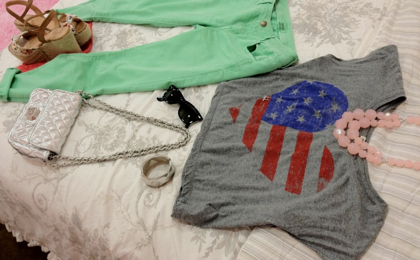 OOTD: 4th of July Inspired Outfit of the Day