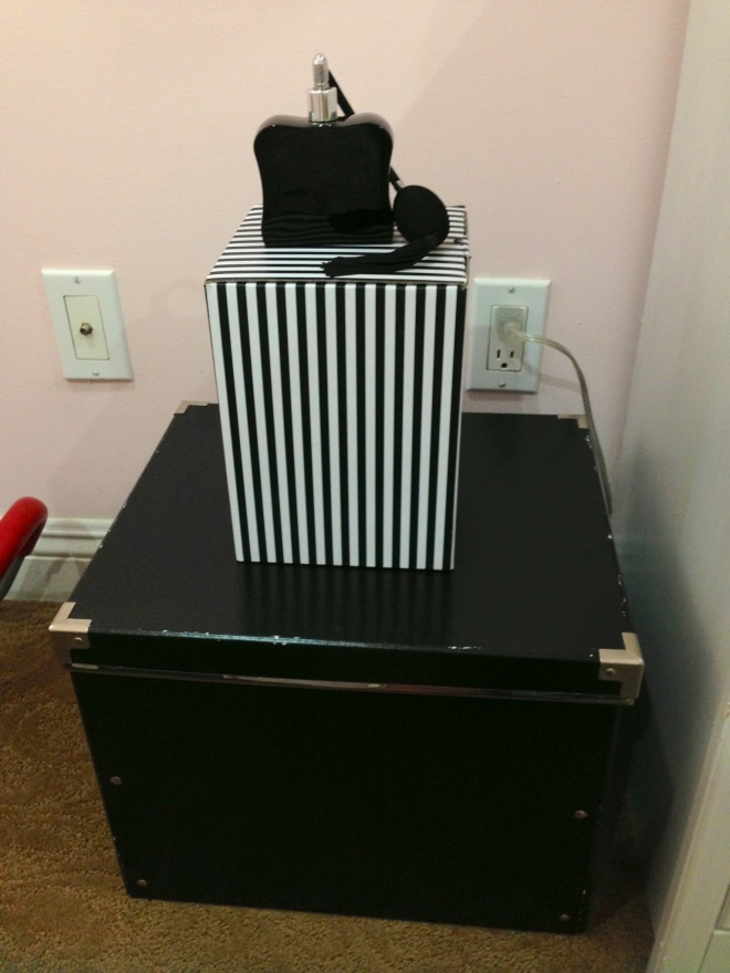 Solid Black Box: Ikea Perfume: Victoria's Secret (Noir)