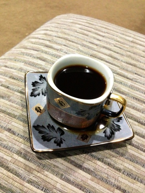 Thanks Mom!  Made me some Turkish coffee while I'm blogging all this <3