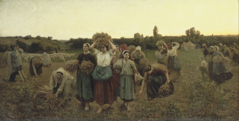 Jules_Breton_-_Calling_in_the_Gleaners_-_Google_Art_Project