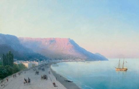 IvanAivazovsky-Ansicht-von-Yalta-DateUnknown