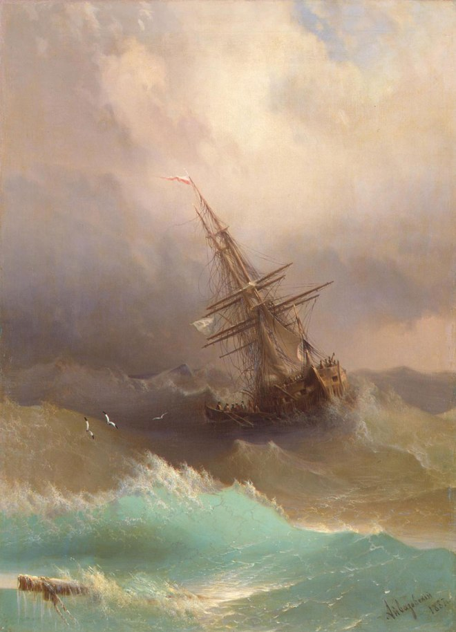 translucent-waves-19th-century-painting-ivan-konstantinovich-aivazovsky-21